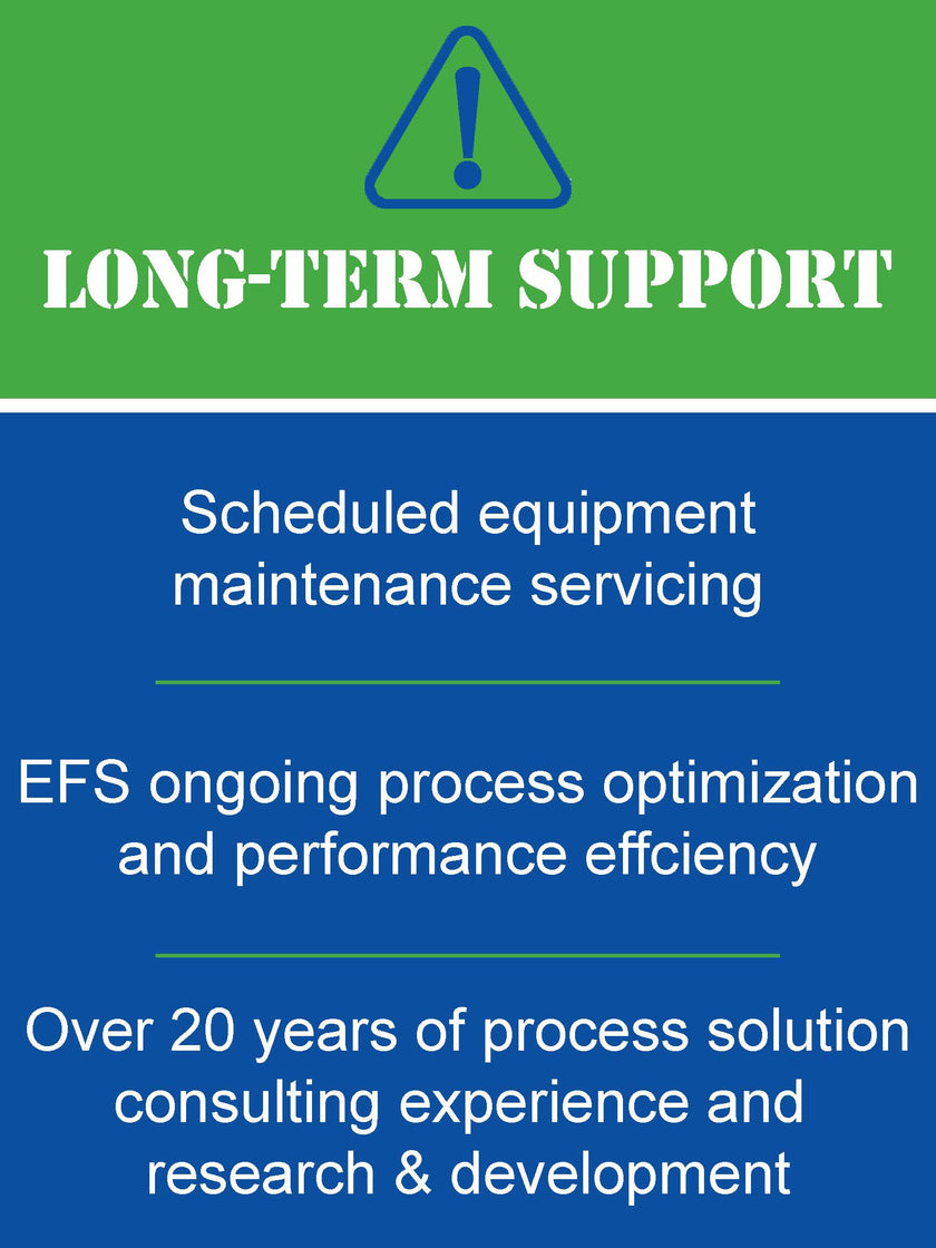 Membrane specialists Engineered Filtration Systems (EFS) provides support for filtration & wastewater system. EFS provides repairs to reverse osmosis systems along with preventative maintenance and warranty coverage. EFS sells replacement membranes.