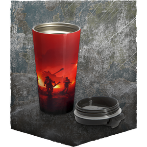 H&G Steel Tumbler - Red