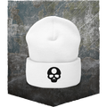 Heroes & Generals Skull Hat - black on white