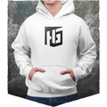 Heroes & Generals Hoodie - black on white