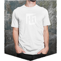 Heroes & Generals T-Shirt - white on white