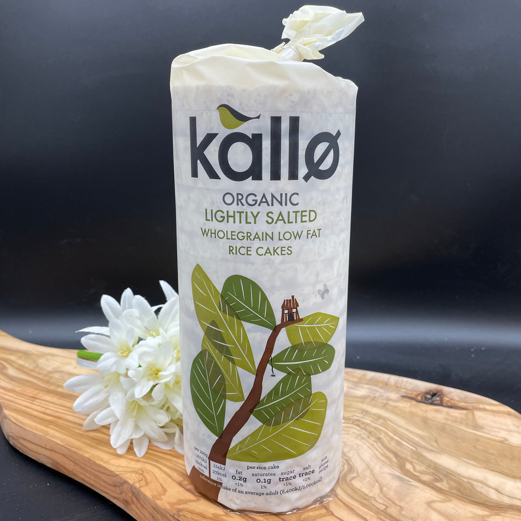 Kallo Lightly Salted Rice Cakes