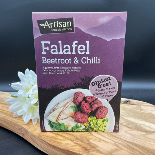 Artisan Grains Gluten Free Beetroot & Chilli Falafel