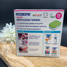 Ecozone Dishwasher Tablets 25 Tabs