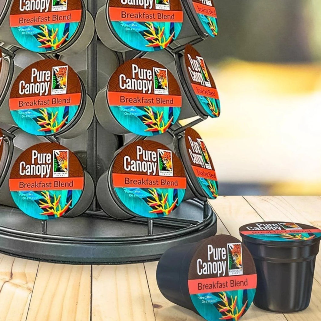 Pure Canopy - Breakfast Blend Coffee - K-Cup 12 pack FRESH!!