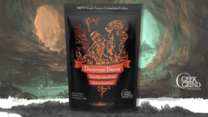 Dwarven Dawn - Deep Mountain Blend - Medium Dark Roast
