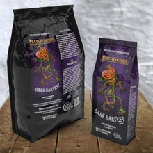 Load image into Gallery viewer, Dark Harvest from Pathfinder - Dark Roast Coffee - 12oz. and 5lb. sizes