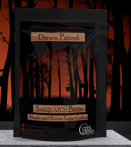 Dawn Patrol - Sasquatch Brew - Maple and Brown Sugar Coffee