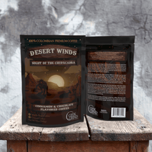 Load image into Gallery viewer, Desert Winds - Night of the Chupacabra - Cinnamon & Chocolate Flavored Coffee