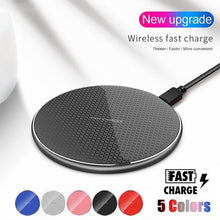 Load image into Gallery viewer, Wireless Fast Charger for iPhone, Samsung, Huawei, Xiaomi