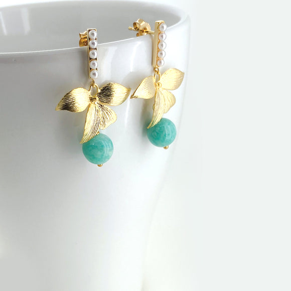 ON SALE OOAK Earrings | Amazonite