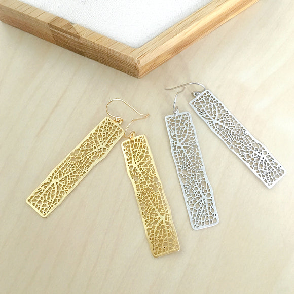 Aurelia Earrings in Gold / Silver
