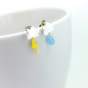 Mini Rain Cloud Earrings (Limited Edition)