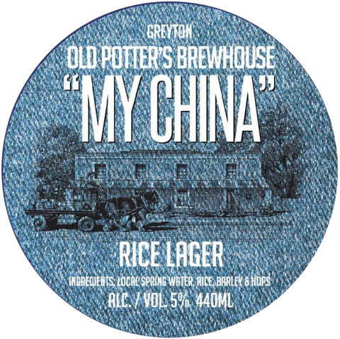 Old Potters My China Rice Lager