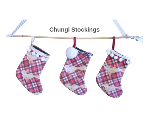 Mini Christmas Stocking - Chungi the Fox