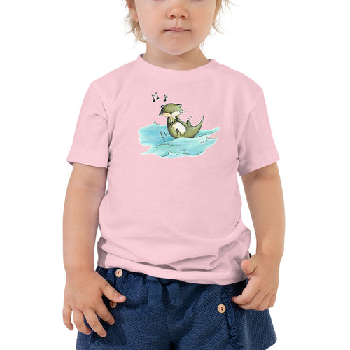 Dancing Holly- Toddler Unisex Short Sleeve Tee