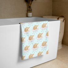 Load image into Gallery viewer, Sun Shower Fox- Printed Towel