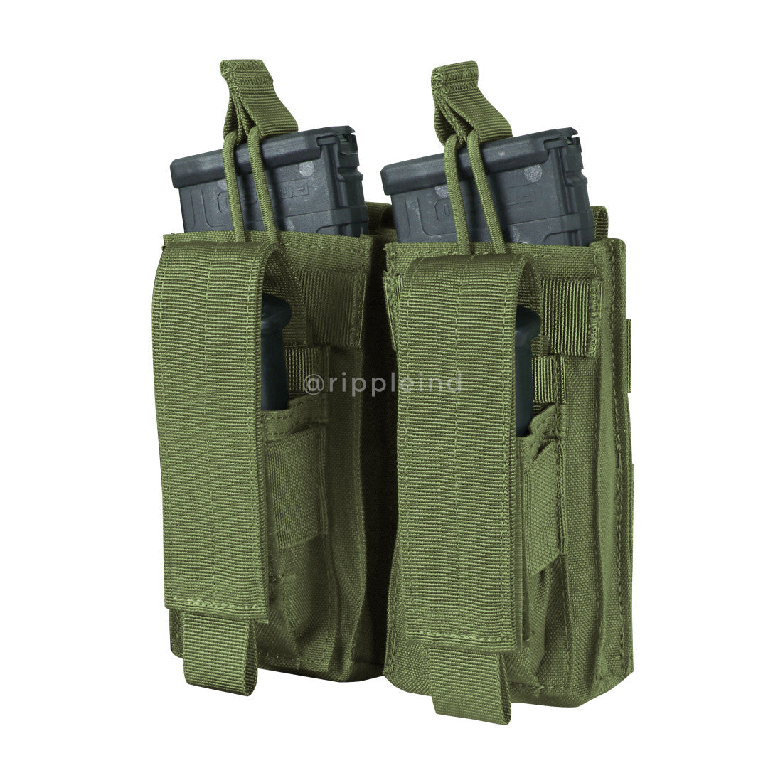 Condor - Olive - Double M4 Kangaroo Mag Pouch