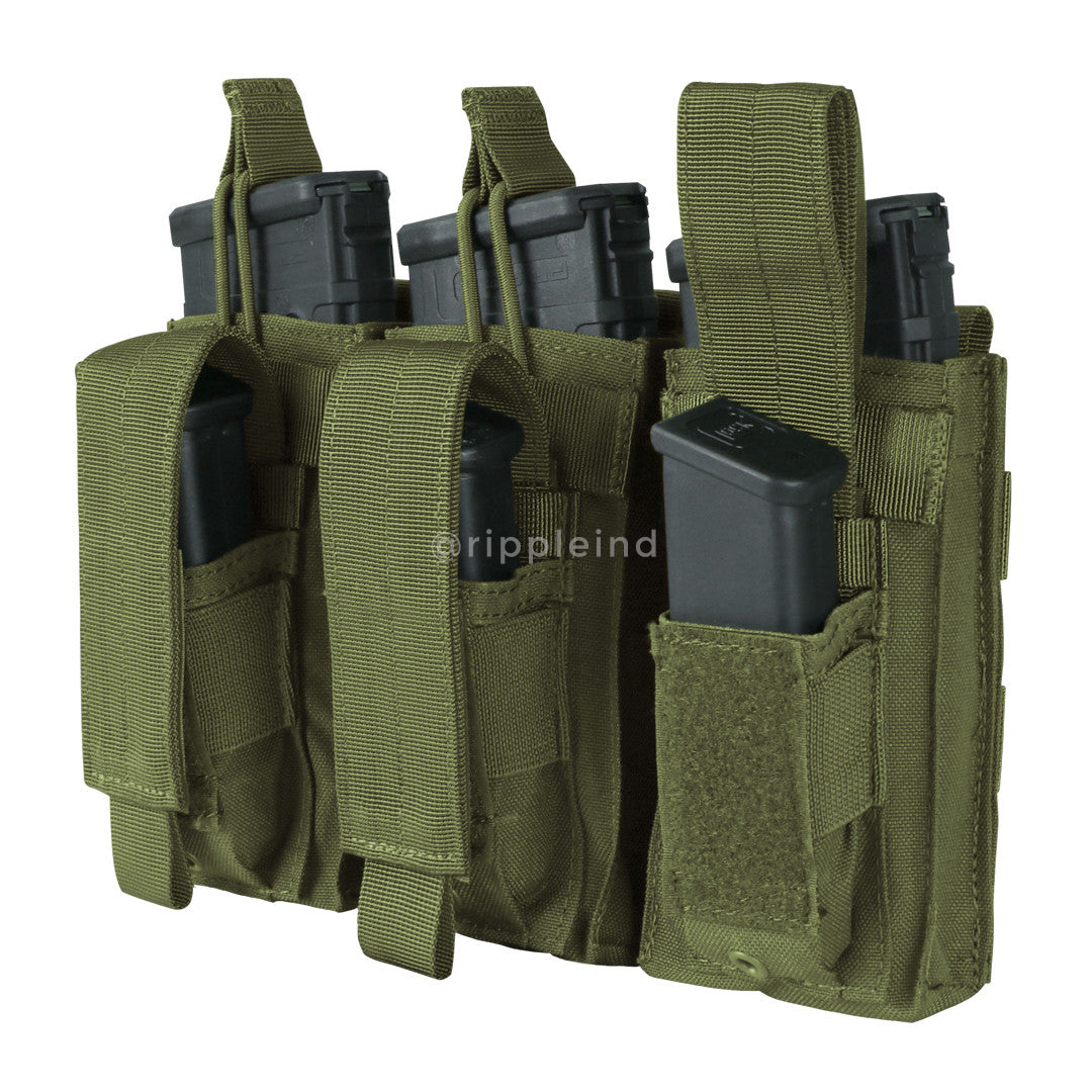 Condor - Olive - Triple M4 Kangaroo Mag Pouch