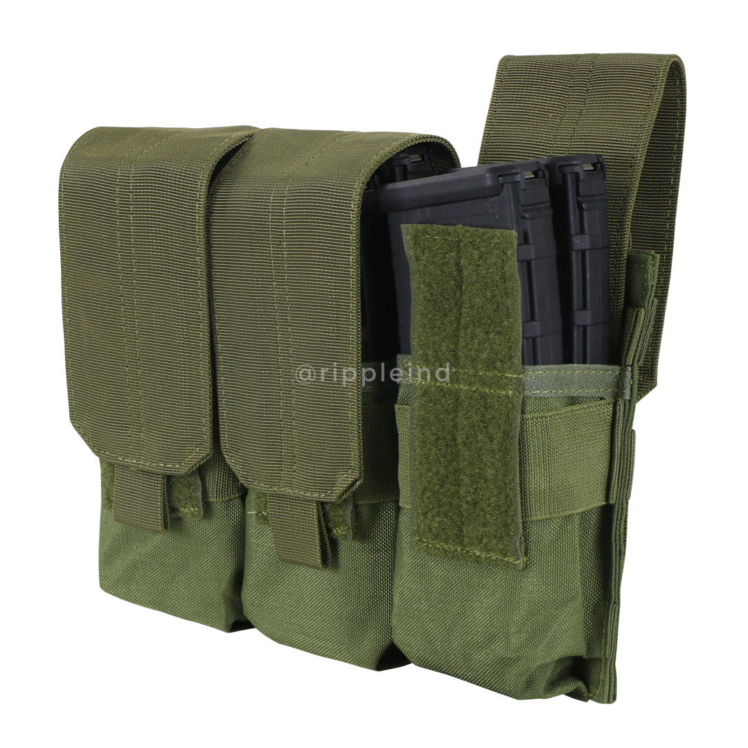 Condor - Olive - Triple M4 Mag Pouch
