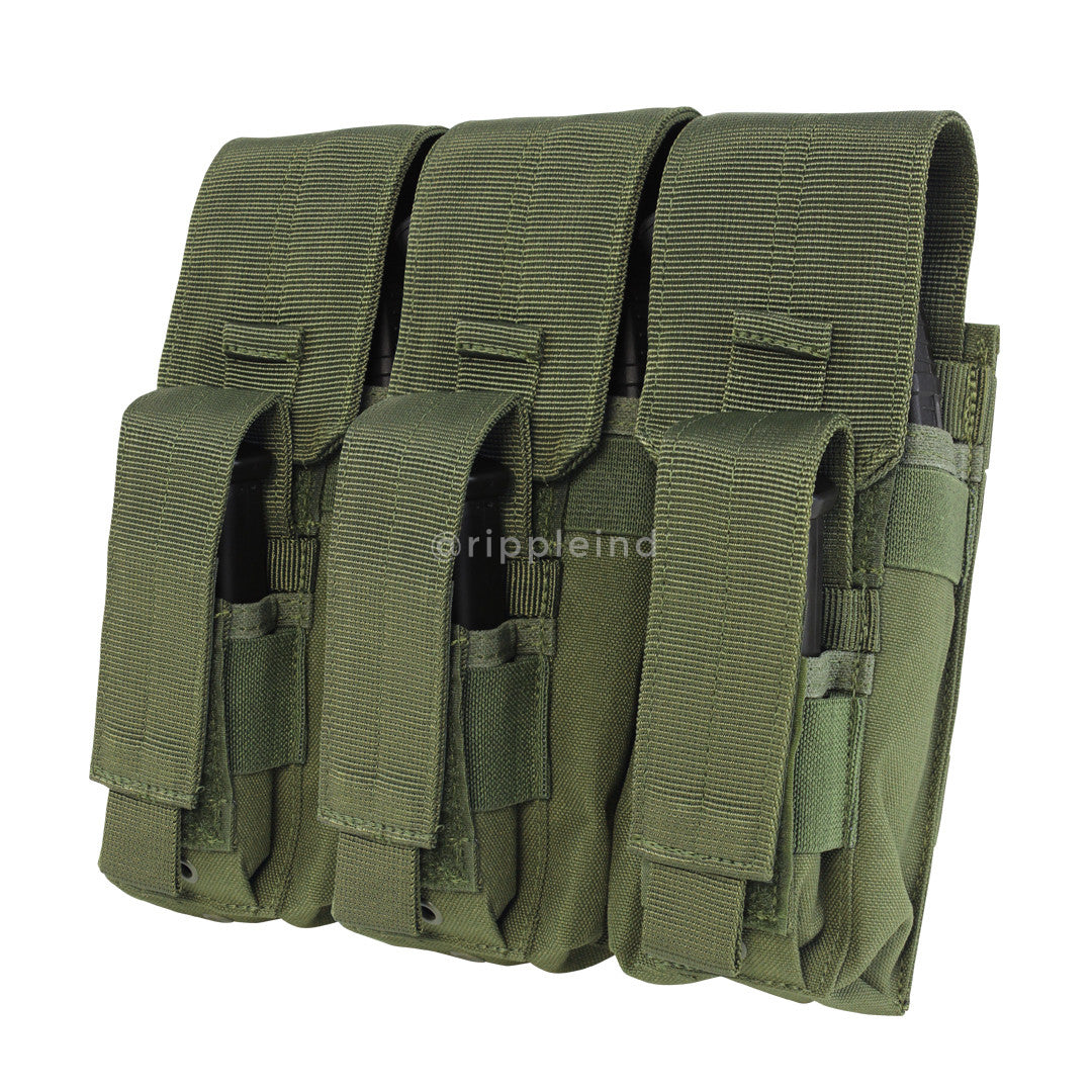 Condor - Olive - Triple AK Kangaroo Mag Pouch