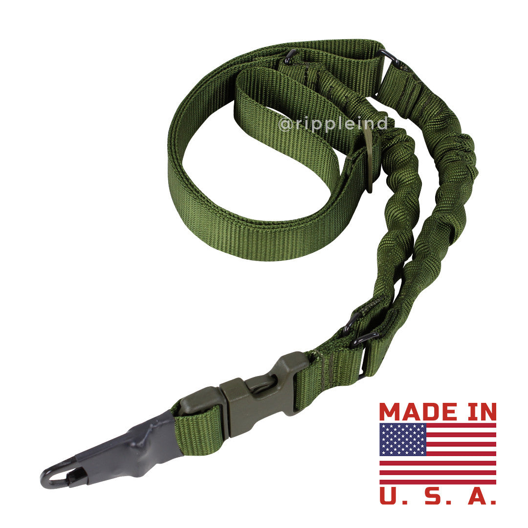 Condor - Olive - One Point Double Bungee - Adder Sling