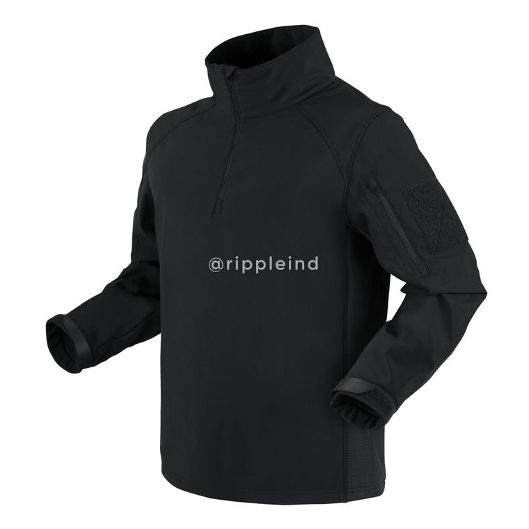 Condor - Black - Patrol Quarter-Zip Soft Shell Top