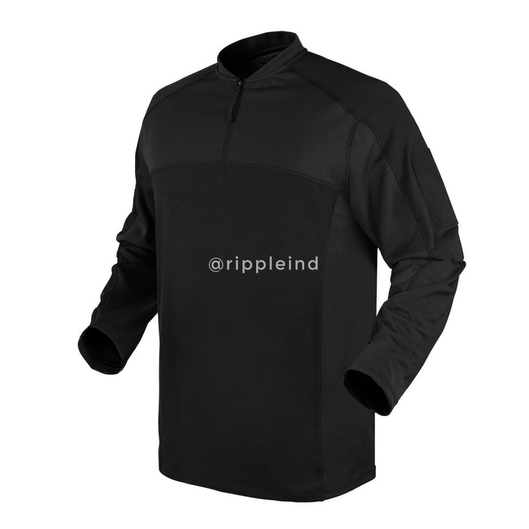 Condor - Black - Trident Battle Top Long Sleeve