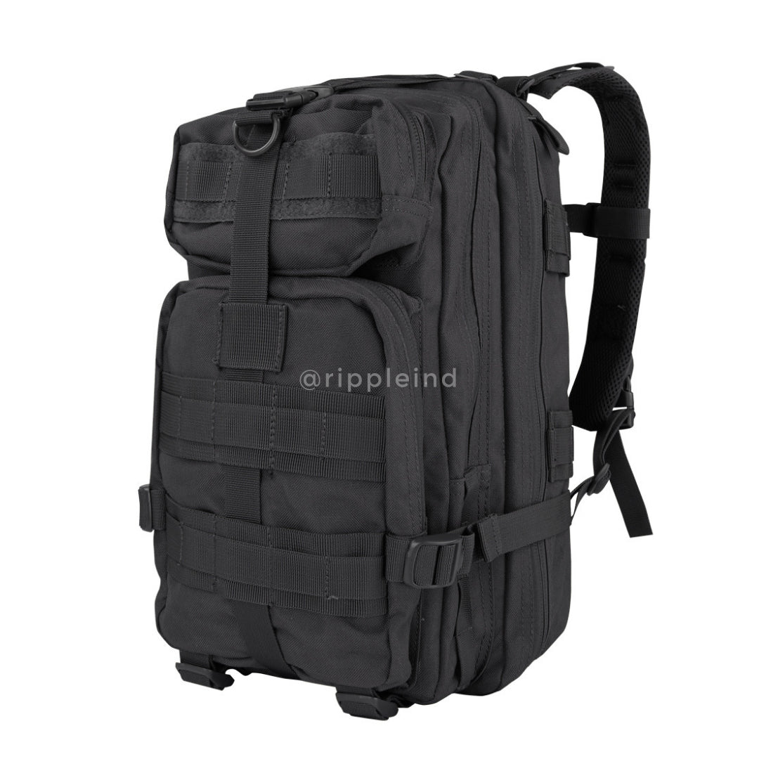 Condor - Black - Compact Modular Style Assault Pack