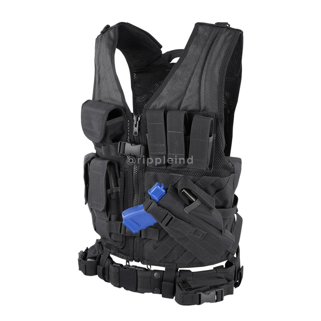 Condor - Black - Crossdraw Vest