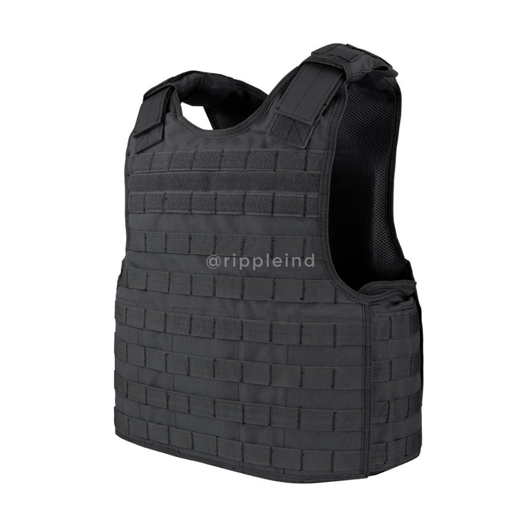 Condor - Black - Defender Plate Carrier Vest