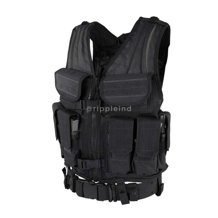 Condor - Black - Elite Tactical Vest