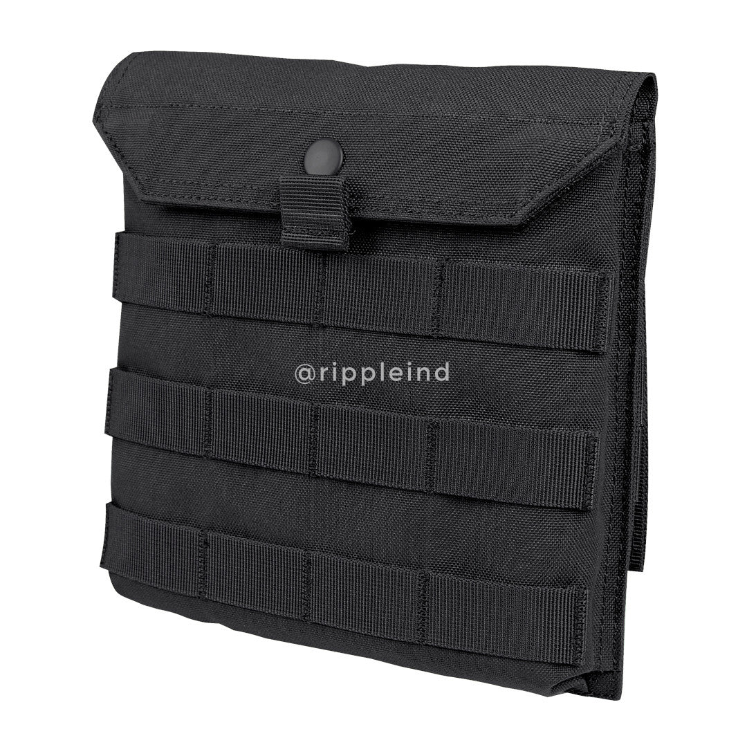 Condor - Black - Side Plate Utility Pouch