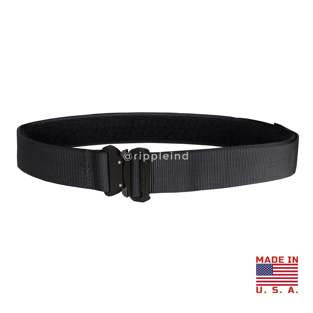 Condor - Black - Cobra Tactical Belt w/Interior Loop