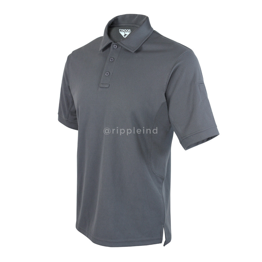Condor - Graphite Grey - Performance Tactical Polo