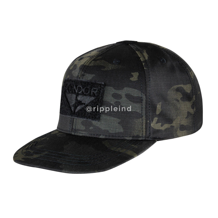 Condor - Multicam Black - Flat Bill Snapback Hat