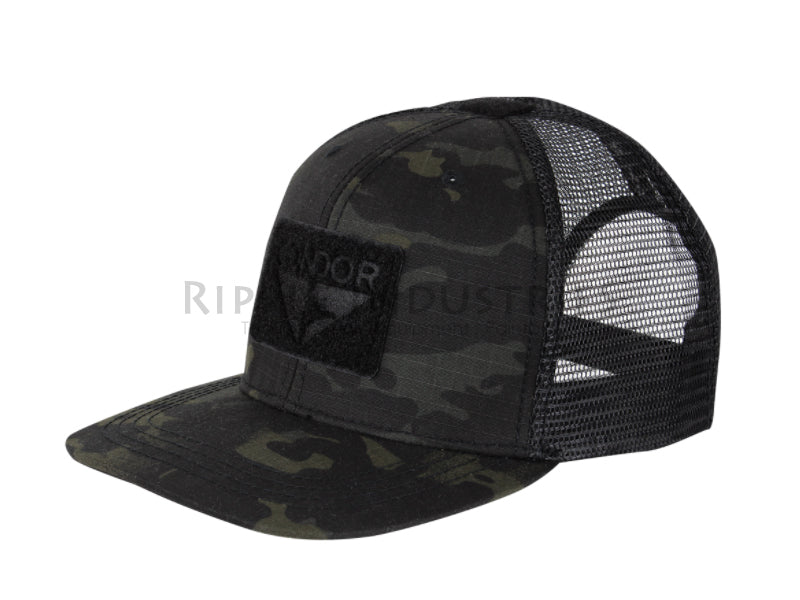 Condor - Multicam Black - Flat Bill Trucker Hat