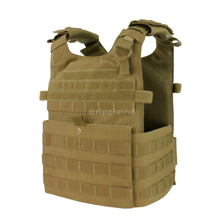 Condor - Coyote Brown - Gunner Lightweight Plate Carrier