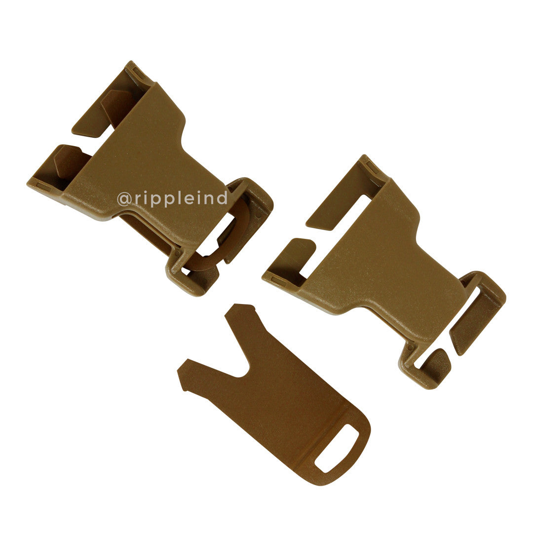 Condor - Coyote Brown - VAS QD Buckle Kit