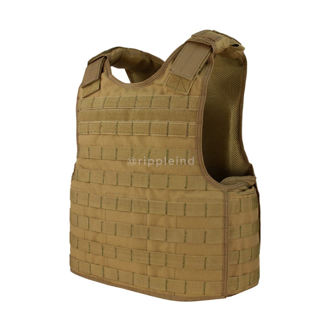 Condor - Coyote Brown - Defender Plate Carrier Vest