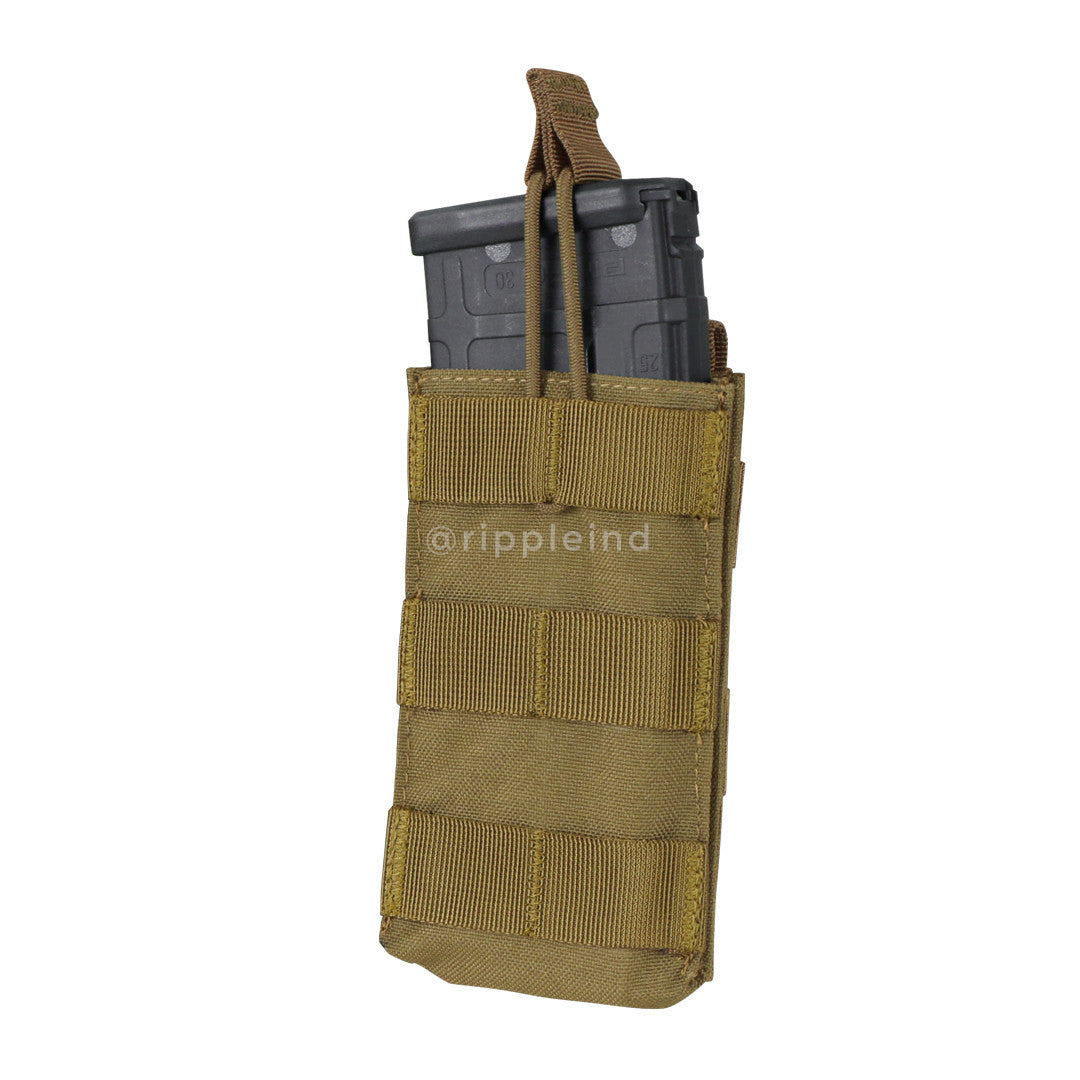 Condor - Coyote Brown - Single Open Top M4 Pouch