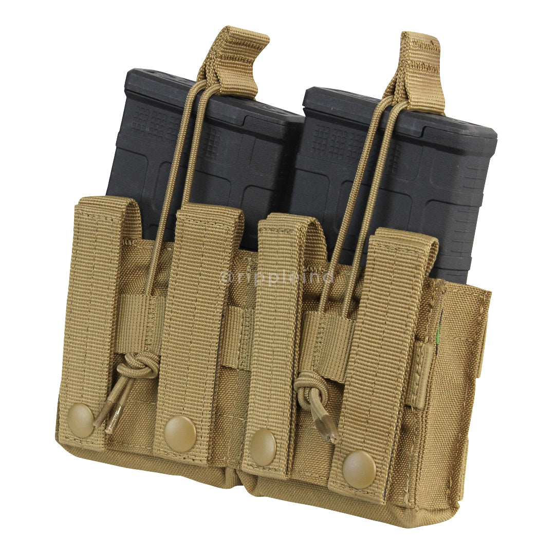 Condor - Coyote Brown - Double Open-Top M14 Mag Pouch