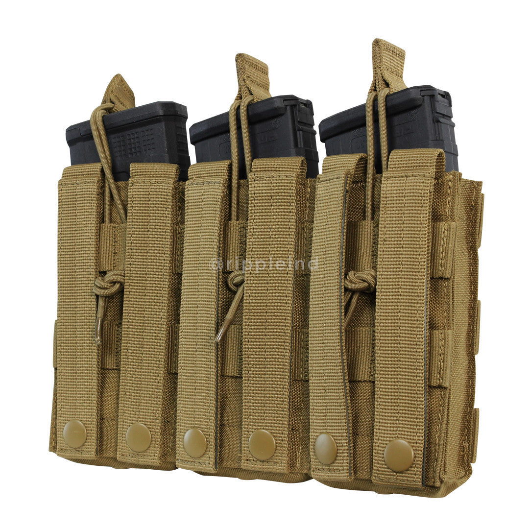 Condor - Multicam - Triple Open Top M4 Pouch