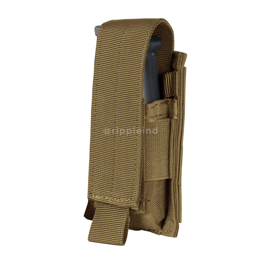 Condor - Coyote Brown - Single Pistol Mag Pouch
