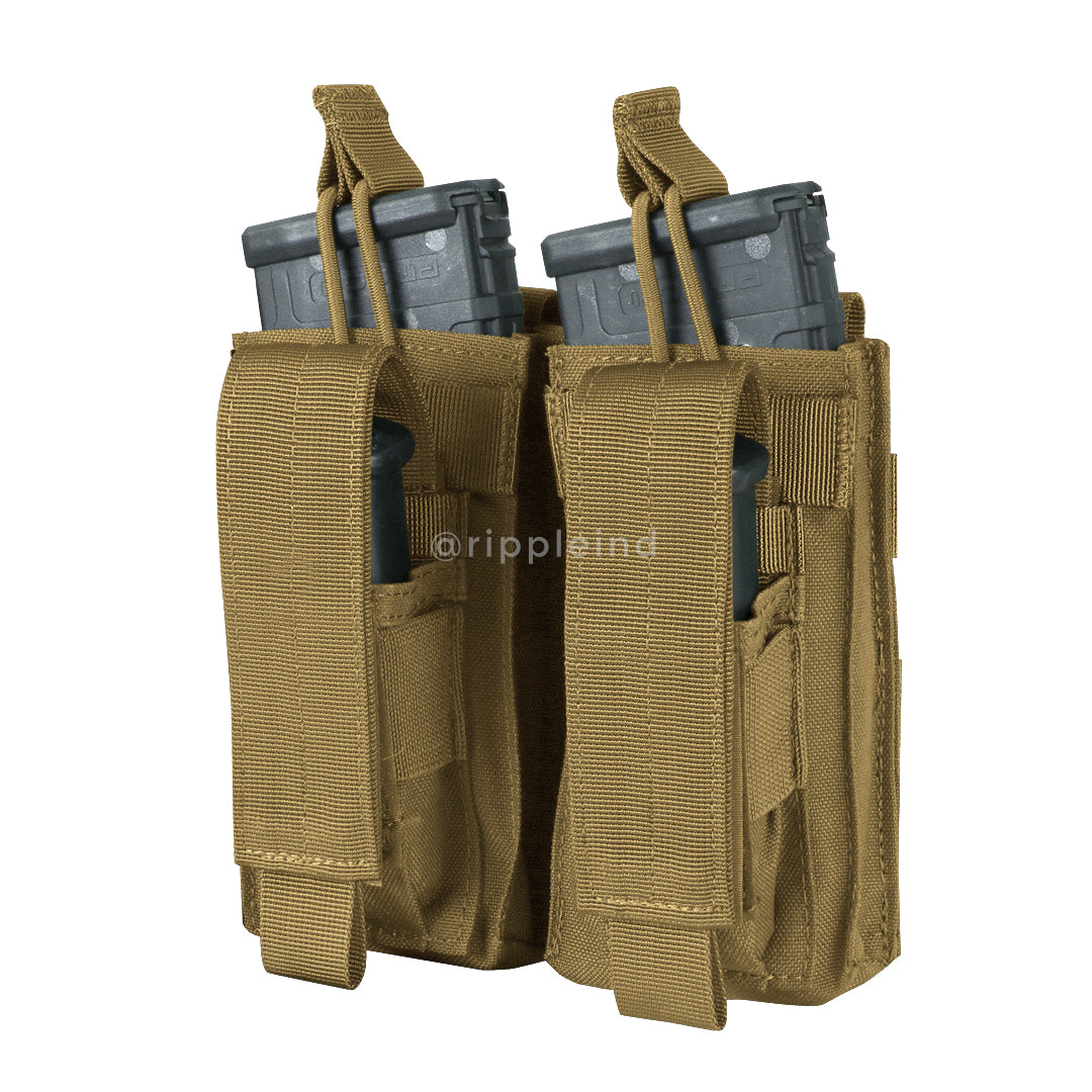 Condor - Coyote Brown - Double M4 Kangaroo Mag Pouch