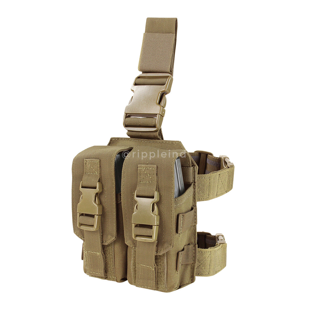 Condor - Coyote Brown - Drop Leg M4 Mag Pouch