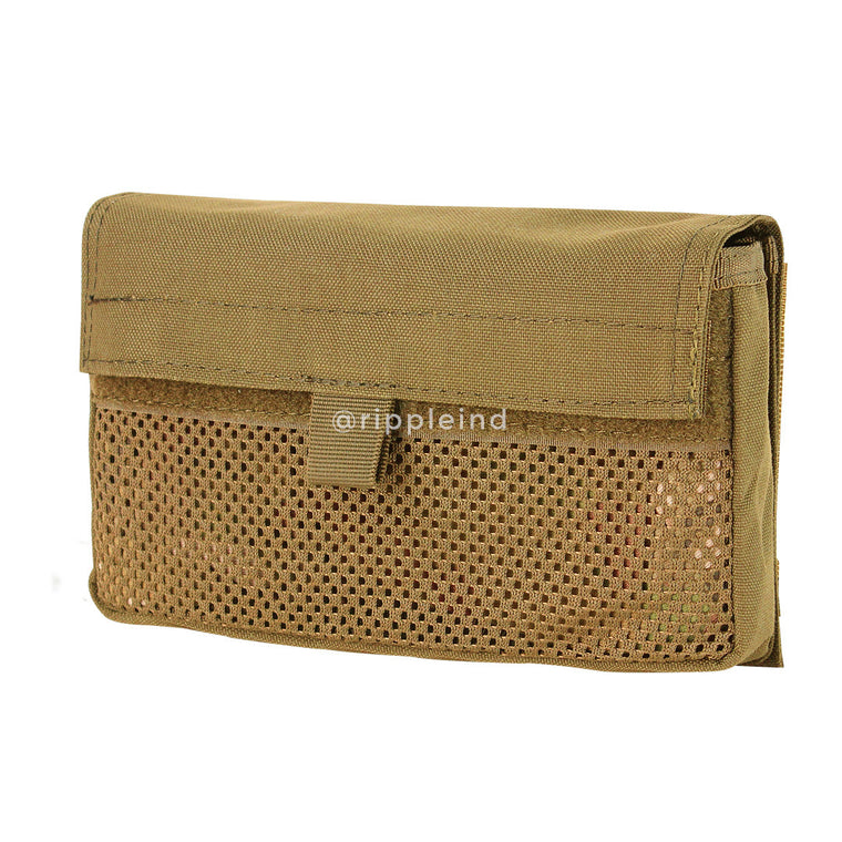 Condor - Coyote Brown - (Hook Back) Mesh Insert Utility Pouch (2pk)