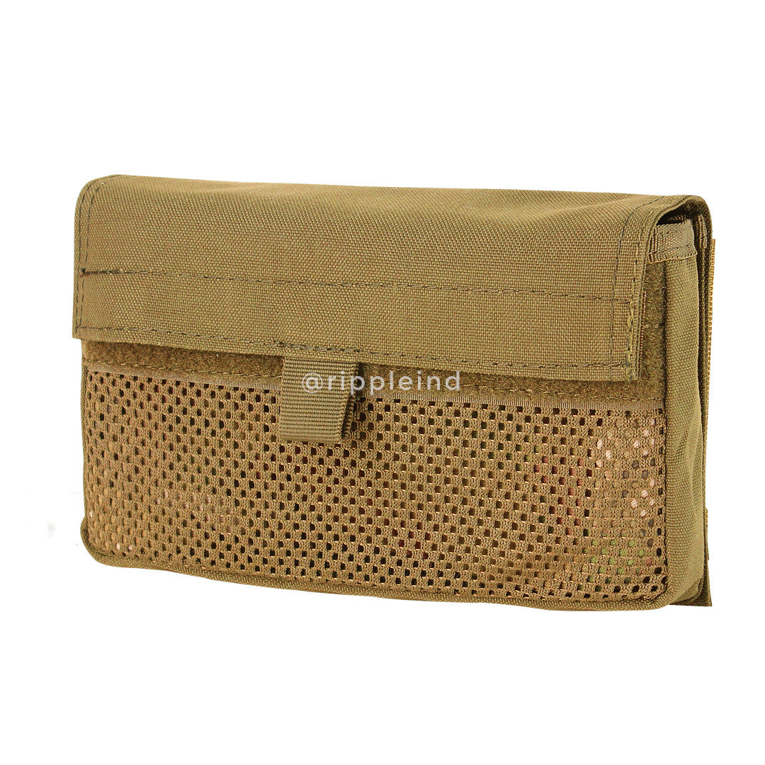 Condor - Coyote Brown - (Hook Back) Mesh Insert Utility Pouch (2pk) - CLEARANCE