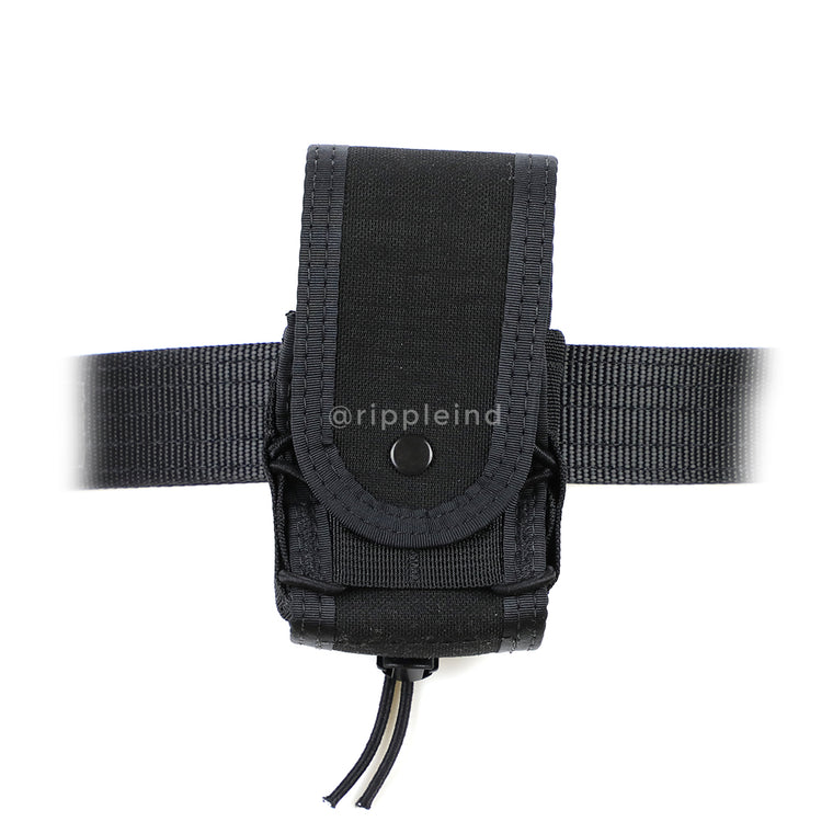 HSGI - Black - BELT MOUNT Handcuff Taco - COVERED