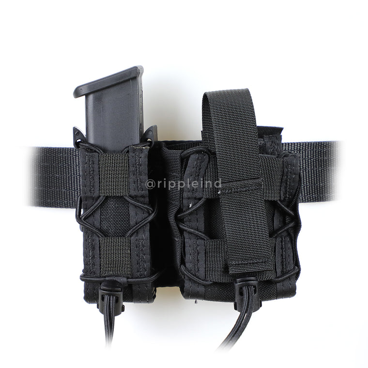 HSGI - Black - BELT MOUNT LEO Taco